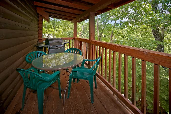 2 bedrom cabin with gas grill and resort pool - Country Comfort