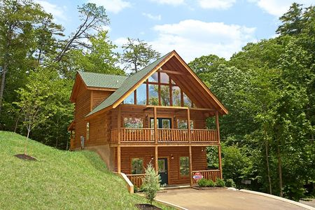 Double View Lodge: 5 Bedroom Pigeon Forge Cabin Rental