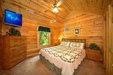 King Bed with Wooded Views
