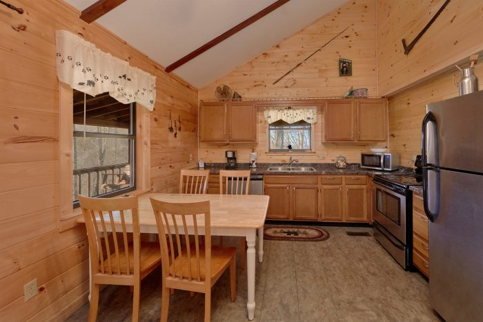 Stainless Steal Fully Equipped Kitchen - Cozy Hideaway