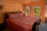 Cabin with 5 Private King Bedrooms and Fireplace