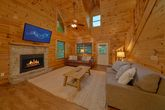 Cabin with Living Room & Kitchen on Main Level