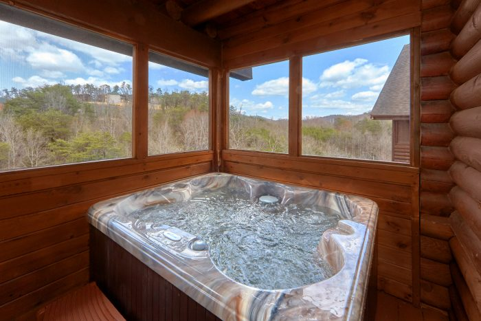Smoky Mountain 2 Bedroom Cabin with Hot Tub - Dainty's Digs