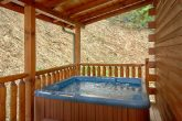 Luxury Cabin with Private Outdoor Hot Tub