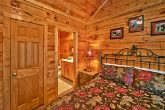 Cabin with King suite with full bath