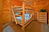 Cabin with Queen bunk bed room