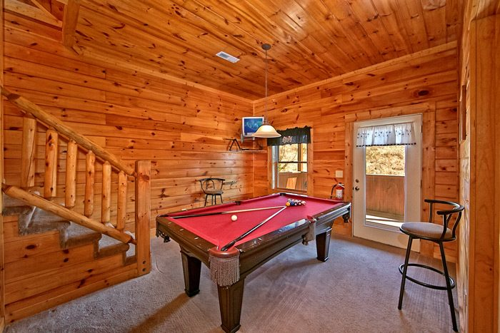 Cabin with pool table game room - Dippidi - Do