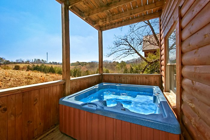 Cabin with Hot tub on back deck - Dippidi - Do