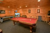Luxury Cabin with Game Room and Pool Table