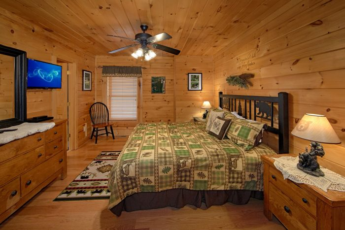 Luxury Cabin with 4 King Beds and Private Baths - Dreamland