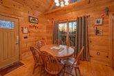 1 Bedroom Cabin Sleeps 4 with Dining Area