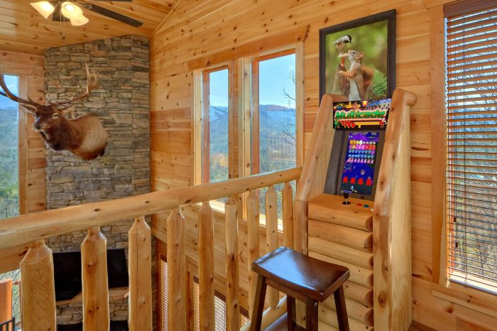 Luxury Cabin with Private Indoor Pool - Elk Ridge Lodge