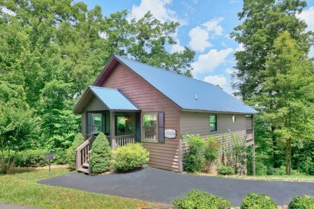 A Cut Above: 1 Bedroom Sevierville Cabin Rental