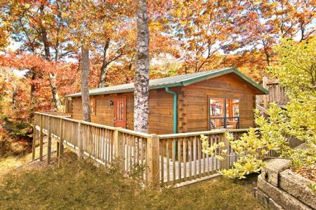 Smoky Mountain High: 1 Bedroom Gatlinburg Cabin Rental