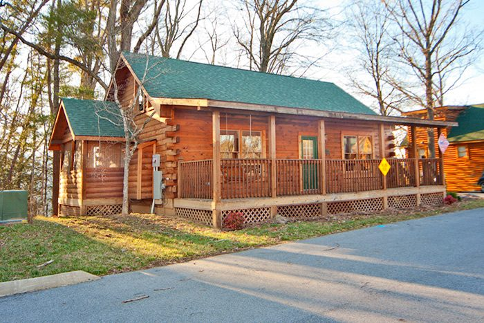 Falling Rock Cabin Rental Photo