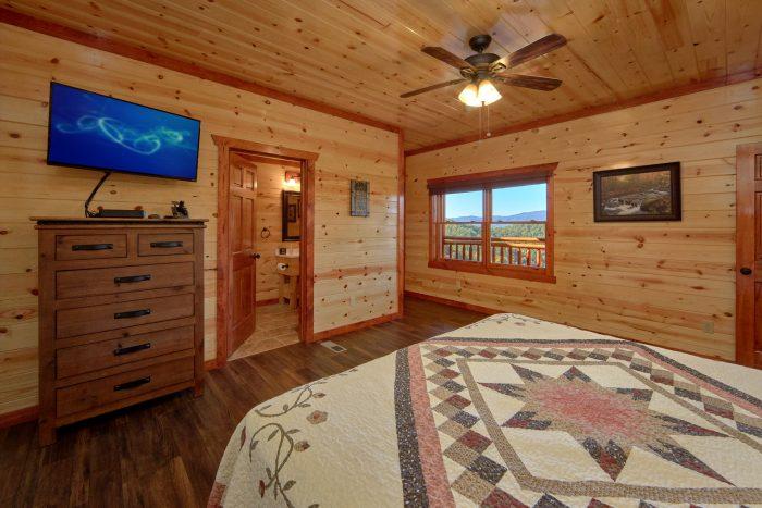 5 Master Suite 6 Bedroom Cabin Sleeps 14 - Family Fun Pool Lodge 1