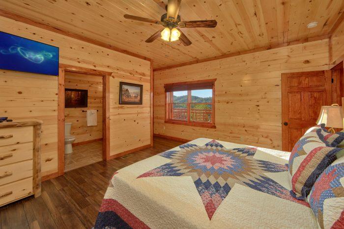 6 Bedroom Indoor Pool Cabin Sleeps 14 - Family Fun Pool Lodge 2