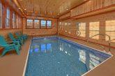 Indoor Pool Cabin with 6 Bedrooms Sleeps 14