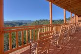Spectacular Views 6 Bedroom Cabin Rocking Chairs