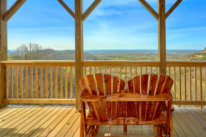 2 Bedroom 2 Bath 2 Story Cabin Sleeps 6 - Fifty Mile View