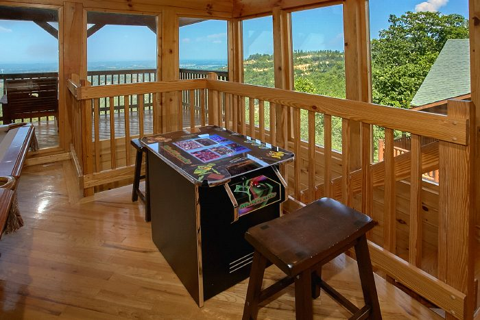 Fifty Mile View Cabin In Pigeon Forge Near Dollywood