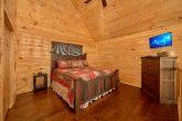 King Master Suite in Open Loft