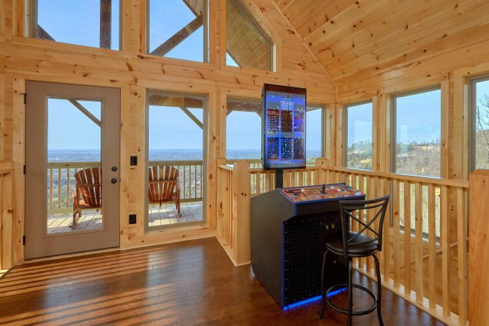 Arcade Game with Spectacular Views - Fifty Mile View