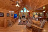 4 bedroom cabin with fireplace