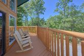 3 Bedroom Cabin with Wooded View from deck