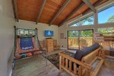 Cabin with Basketball Game and TV in Game Room
