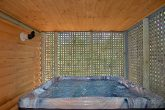 2 Private Hot Tubs in 3 Bedroom Cabin