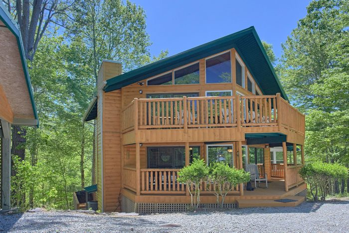 3 Bedroom Cabin with 2 Decks - Forever Country