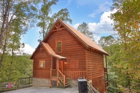 Bird's Eye View: 3 Bedroom Sevierville Chalet Rental