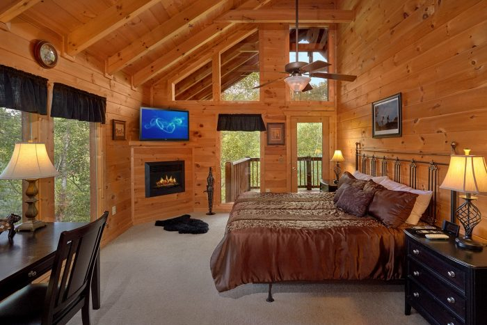 Sky Harbor Cabin Theater Room Hot Tub And Game Room