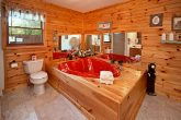 Cabin with Heart Shaped Jacuzzi