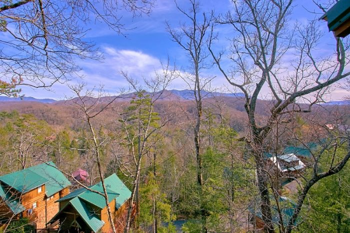 Spectacular Views Gatlinburg 3 Bedroom Cabin - Gatlinburg Views