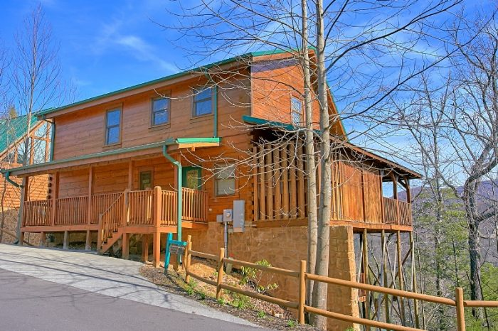 Smoky Shadow Resort 3 bedroom Cabin Sleeps 10 - Gatlinburg Views