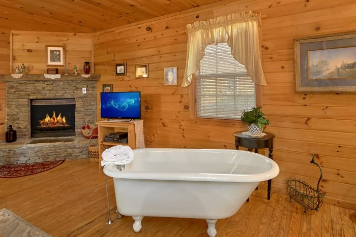 1 Bedroom Cabin Sleeps 2 with Claw Tub - Gray's Place