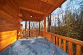 Private Hot Tub at Gatlinburg Honey Moon Cabin