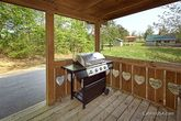 Smoky Mountain Cabin with a grill