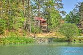 Wears Valley Cabin in a Wooded Setting