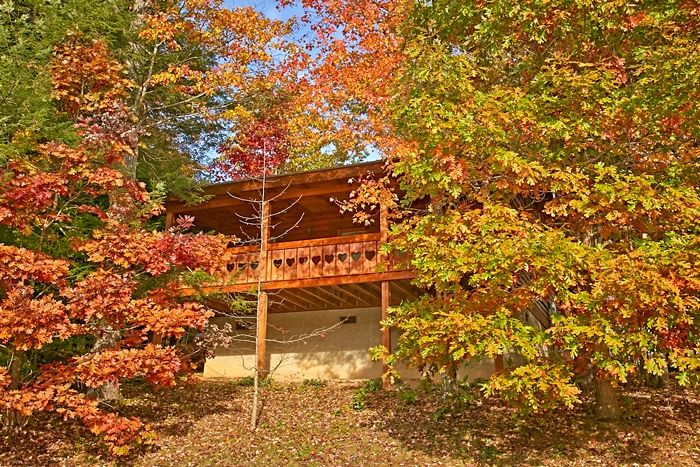 Smoky Mountain Cabin in Beautiful Wooded Setting - Heart to Heart