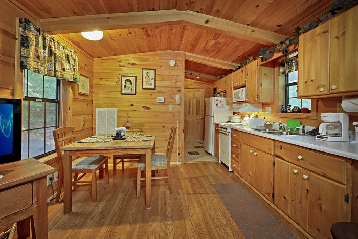 Sky Harbor Cabin Kitchen - Heavenly Dreams