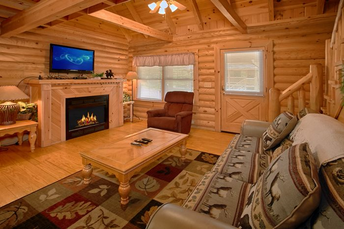 Cabin with Gas Fireplace and Sleeper Sofa - Heavenly Haven