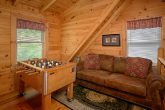 Cabin with loft Game room in Wears Valley
