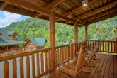 2 Bedroom Resort Cabin with Covered Deck