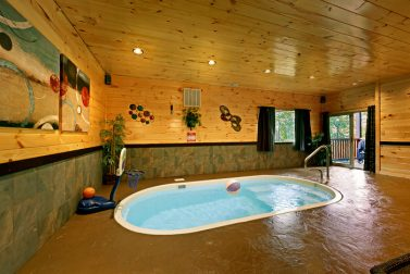 Swimming Pool Cabins In Pigeon Forge Private In Cabin Pool