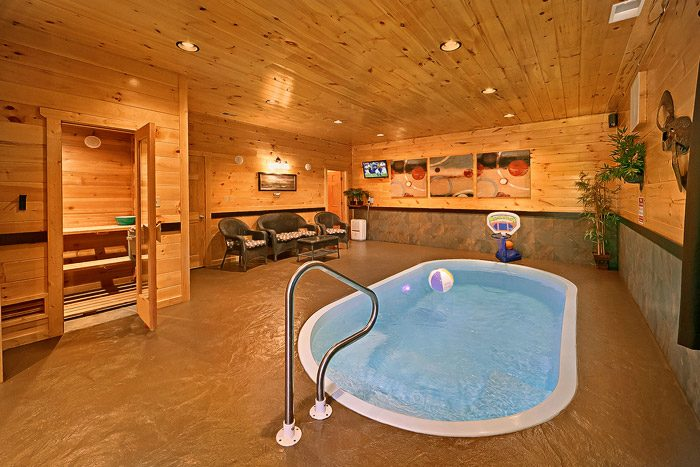 Delicieux ... Cabin With Heated Private Pool   Hickory Splash ...