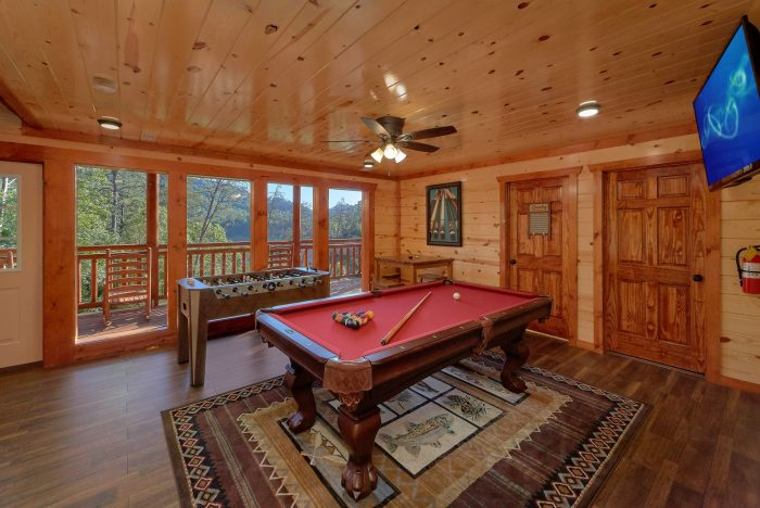 6 Bedroom Pool Cabin with a Billiards Table - High Dive