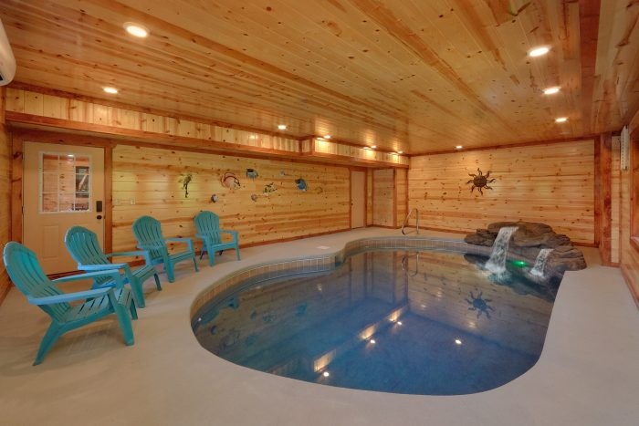 6 Bedroom Cabin with a Private Indoor Pool - High Dive